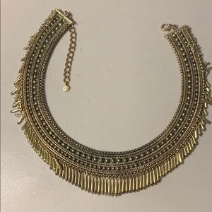 Gold Filigree collar